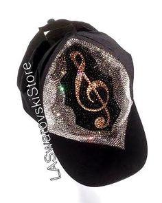 ad0225ffbf735 Handmade Baseball Hat Cap With Authentic Swarovski Crystals Rhinestones  Sexy Any Sign on Chiq  115.00 http