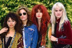 The Bangles Mini Color Poster Group Pose Susanna Hoffs Susanna Hoffs, Boy George, The Bangles Band, Procol Harum, Michael Steele, Women Of Rock, Pop Rock Bands, Music Pics, Pop Rocks