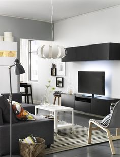 TVs are a lot more fun these days. Gaming, online movies, internet browsing… But do you ever feel like all the wires, satellite boxes, DVDs and remote controls are taking over your home? Happily, BESTÄ is here to cut the clutter and get things prettied up.
