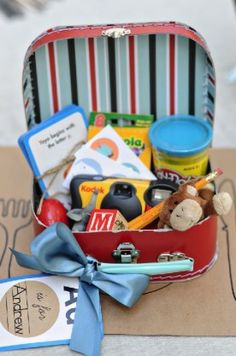 """Kid kits"" for your ringbearer or flower girl."