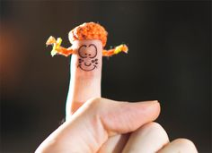 Artistic, Creative and Imaginative Painted Fingers and Hands Finger Fun, Finger Hands, Funny Fingers, Pippi Longstocking, Sketch Inspiration, Hand Art, Finger Puppets, Wow Products, Make You Smile