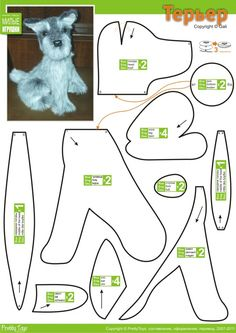 Dog ven vilt maken en als speldenkussen gebruiken, de kop met een berenschijf bevestigen.