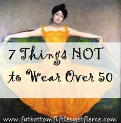 7 Things Not to Wear When You're Over 50