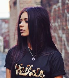 black purple hair - Google Search