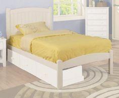 Justo lo que su habitación necesita es la cama individual o matrimonial elaborada de madera y cuenta con finos acabados en color blanco. >> http://www.kidswarehouse.com.mx/fa-cama-individual-caren-blanco.html