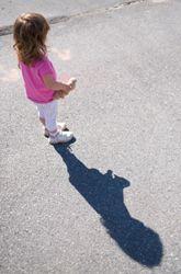 Shadow art and fine motor skills
