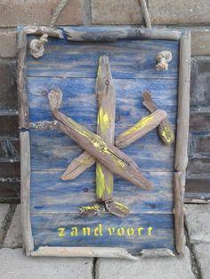 Het wapen van Zandvoort van juthout