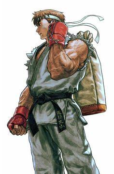 Ryu. Street Fighter by mr. Shoryuken