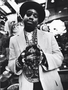 (Past) Hip-Hop Fashion - Slick Rick, 1988 (Georges Dos Santos, 2010)