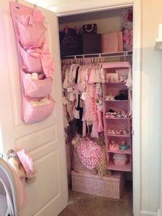 Baby girl closet