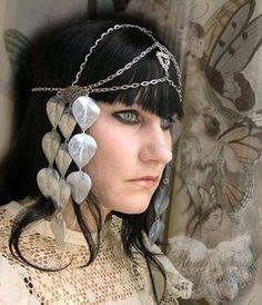 Erte Art deco Fairy Headdress