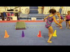 Gym Jumping Warm-Up - YouTube Gymnastics Warm Ups, Gymnastics Levels, Gymnastics Floor, Tumbling Gymnastics, Gymnastics Skills, Gymnastics Videos, Gymnastics Coaching, Preschool Gymnastics, Preschool Class
