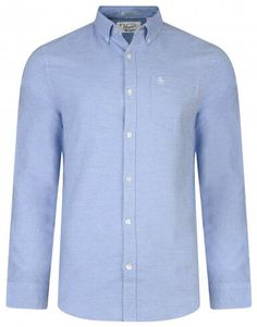 Oxford 100% Cotton Slim fit casual look, Superb quality long sleeves, standard collar with single chest pocket shirt by Original Penguin.