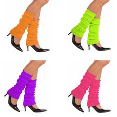 Neon Leg Warmers: you're doin' it right.