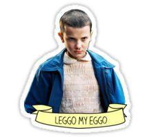 Eleven loves Eggos Sticker