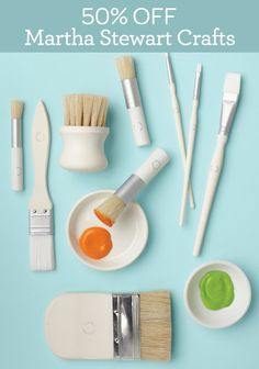 Click the link to get 50% off one Martha Stewart Crafts item at Michaels through October 13th!