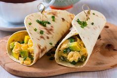 """Just right for """"Recipes From Hattie's Farm Kitchen""""~ Have A Blessed & GOD-filled Day ~~~Wild Onions and Scrambled Eggs Recipe - Recipes - Capper's Farmer Breakfast Wraps, Breakfast On The Go, Breakfast Burritos, Avocado Breakfast, Diet Breakfast, Breakfast Ideas, Breakfast Toast, Breakfast Recipes, Wild Onions"""