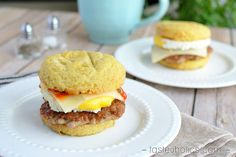 A Five Star Breakfast! No, this recipe was not inspired by any Egg McMuffin!  It may be surprising, but we were never fans of fast food restaurants like McDonald's and Burger King pre-keto. Even through all our unhealthy eating habits, we were still aware of how down we felt after eating their food. It took only a few