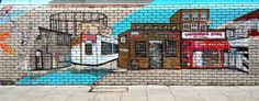 Photo taken by yours truly. Goldsmith Row, Hackney