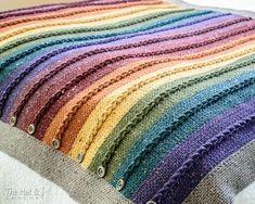 Ravelry: Buttons & Braids Blanket pattern by Marken of The Hat & I Crochet Yarn, Knitting Yarn, Crochet Hooks, Scrap Crochet, Crochet Patterns For Beginners, Crochet Blanket Patterns, Manta Crochet, Knitted Blankets, Crochet Projects