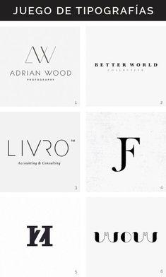 Logotipos tipográficos Hello! Creatividad                                                                                                                                                                                 Más