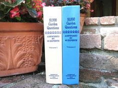 Vintage Gardening Books / Gardening Questions / by redladybugz, $12.50