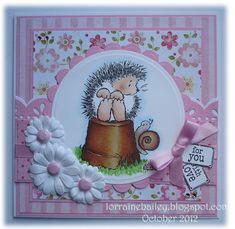 "Mrs B's Blog: Penny Black ""Garden Visit"" - Joy!crafts die flowers"