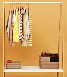 @Who What Wear - How To Move Your Wardrobe Efficiently -- need to know for move after wedding!!