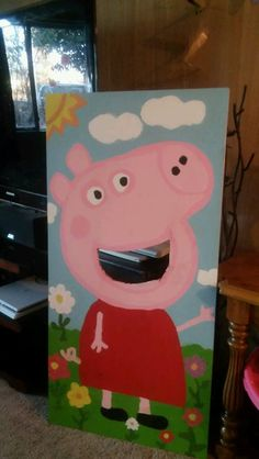 Peppa Pig Bean Bag Toss