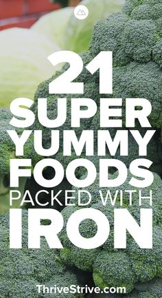 Need to find ways to get more iron into your diet? Here are 21 super foods that … Need to find ways to get more iron into your diet? Here are 21 super foods that don't taste terrible that you can add to your diet to get more iron. Foods With Iron, Foods High In Iron, Iron Rich Foods, Iron Filled Foods, Recipes High In Iron, Iron Rich Recipes, Anemia Diet, Food For Anemia, Anemia Foods
