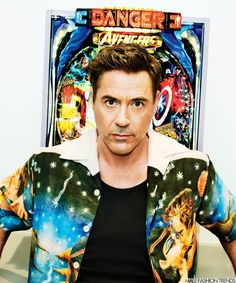 Robert Downey Jr. para GQ Style The Debut Issue por Pari Dukovic