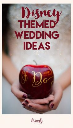Disney Themed Weddings Fit for a Princess