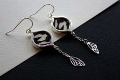 Check out this item in my Etsy shop https://www.etsy.com/uk/listing/292188111/butterfly-wing-earrings-butterfly-wing
