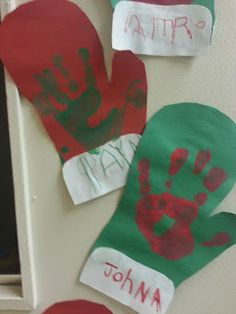 Winter weather crafts - preschool Make a santa glove out of their handprints! Weather Crafts Preschool, Daycare Crafts, Preschool Christmas, Classroom Crafts, Craft Activities For Kids, Preschool Activities, Preschool Winter, Winter Activities, Craft Ideas