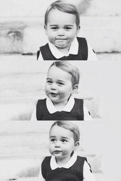 Prince George is a cutie.