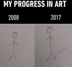 Progress in art