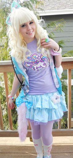 Chaotic Dynamics: January 2012 ♡ Fairy Kei, Pop Kei, Magical Girl, Pastel Fashion ♥