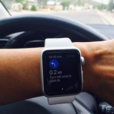 the latest innovations: Google Maps for Apple Watch Presents Simple Naviga...