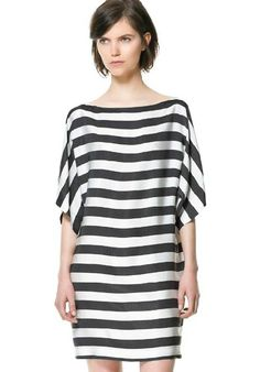 Striped Short Sleeve Loose T-Shirt @Pascale De Groof