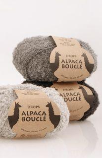 DROPS Alpaca Bouclé colour chart ~ DROPS Design