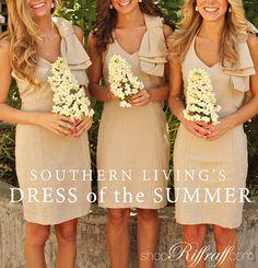 Bridesmaid dresses how cute!