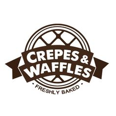 сrepe waffles logo - Recherche Google Food Logo Design, Food Truck Design, Logo Food, Waffles Logo, Crepes And Waffles, Waffle Shop, Waffle Bar, Crepe Cafe, Original Iphone Wallpaper