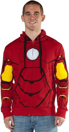 Ryker needs it............Iron Man Hoodie--so cool! obsessed with all the avengers