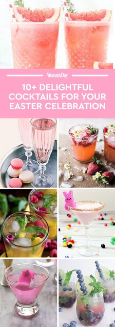 Not sure what drinks to serve on Easter Sunday? These are the best and easiest Easter drink recipes to make.