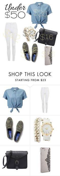 """""""yey :)"""" by altxya on Polyvore featuring Miss Selfridge, Topshop, Keds, Charlotte Russe, Nanette Lepore, under50 and skirtunder50"""