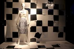 """Saks Fifth Avenue, """" I LOVE being creative, you can look back at the end of the day and tell yourself, I did all that!"""", pinned by Ton van der Veer"""