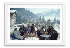 Slim Aarons, Drinks at Gstaad