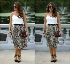 In a style rut? Sometimes a little animal print is all you need. Via Good Girl Gone Glam