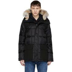 Canada Goose - Black 'Black Label' Down & Fur Callaghan Parka