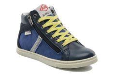 Coole Sneakers VALERY WEB K van P-L-D-M By Palladium (Blauw) Sneakers van het merk P-L-D-M By Palladium voor Kinder . Uitgevoerd in Blauw gemaakt van .